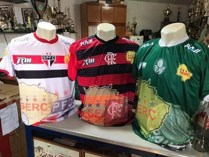 Chapadão lança linha de camisas baseadas em grandes do Brasil