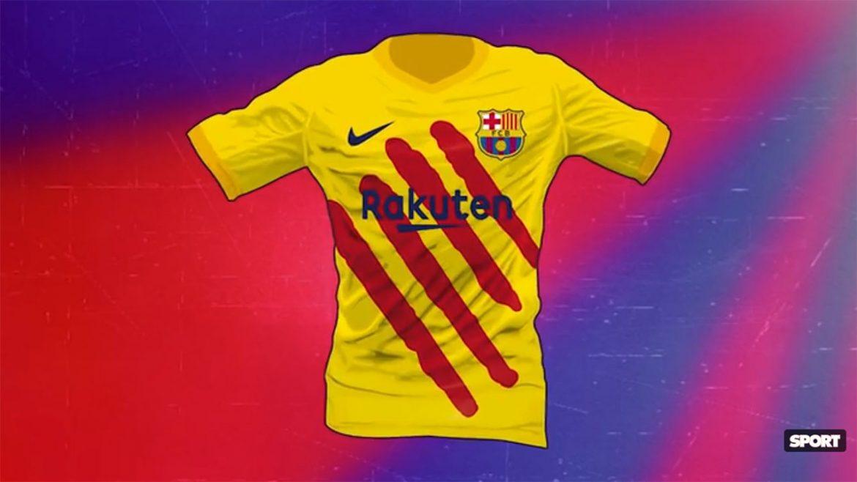 FC Barcelona deve ter quarta camisa inspirada na Senyera em 2019-2020