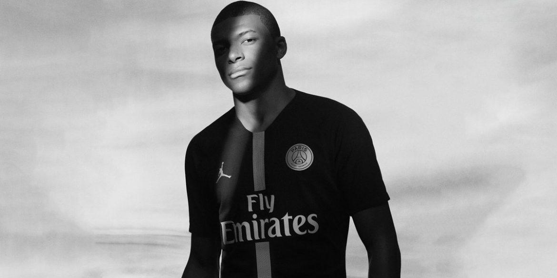 PSG Jordan MBappe