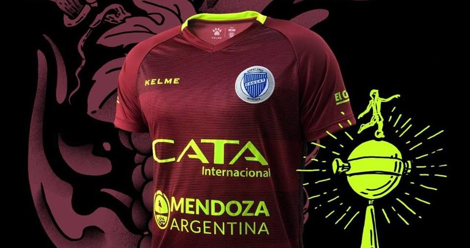 Terceira camisa do Godoy Cruz 2019 Kelme