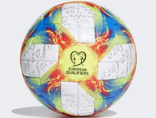 UEFA e Adidas lançam bola das eliminatórias da Euro 2020