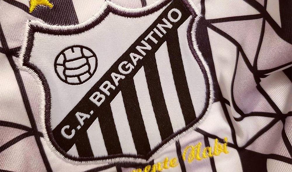 camisa carijó do Bragantino 2019 Ícone Sports abre