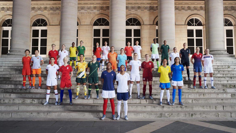 camisas Nike para a Copa do Mundo 2019 feminina