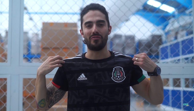 VÍDEO: Como é feita a camisa da Seleção do México na fábrica da Adidas