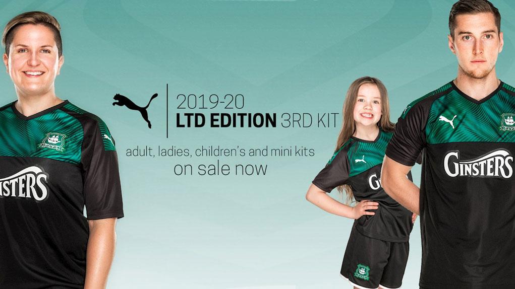 camisas do Plymouth Argyle 2019