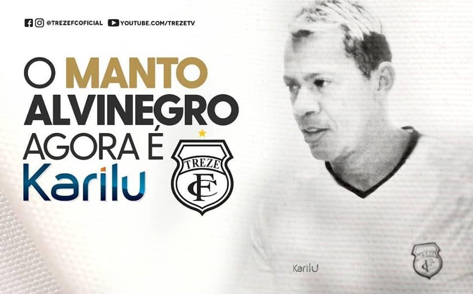 Treze assina com a Karilu para a Série C 2019