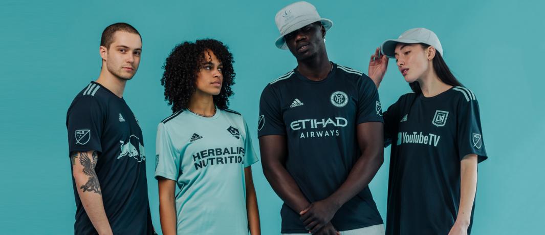 Adidas lança camisas Parley para os times da MLS 2019