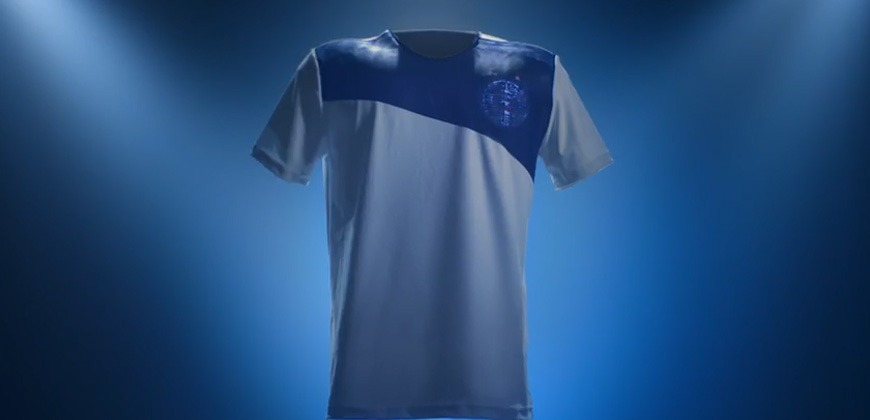 Camisa camuflada do Bahia Esquadrão