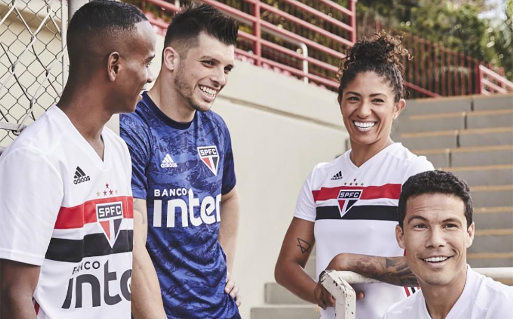 Camisa de goleiro do São Paulo 2019-2020 Adidas abre