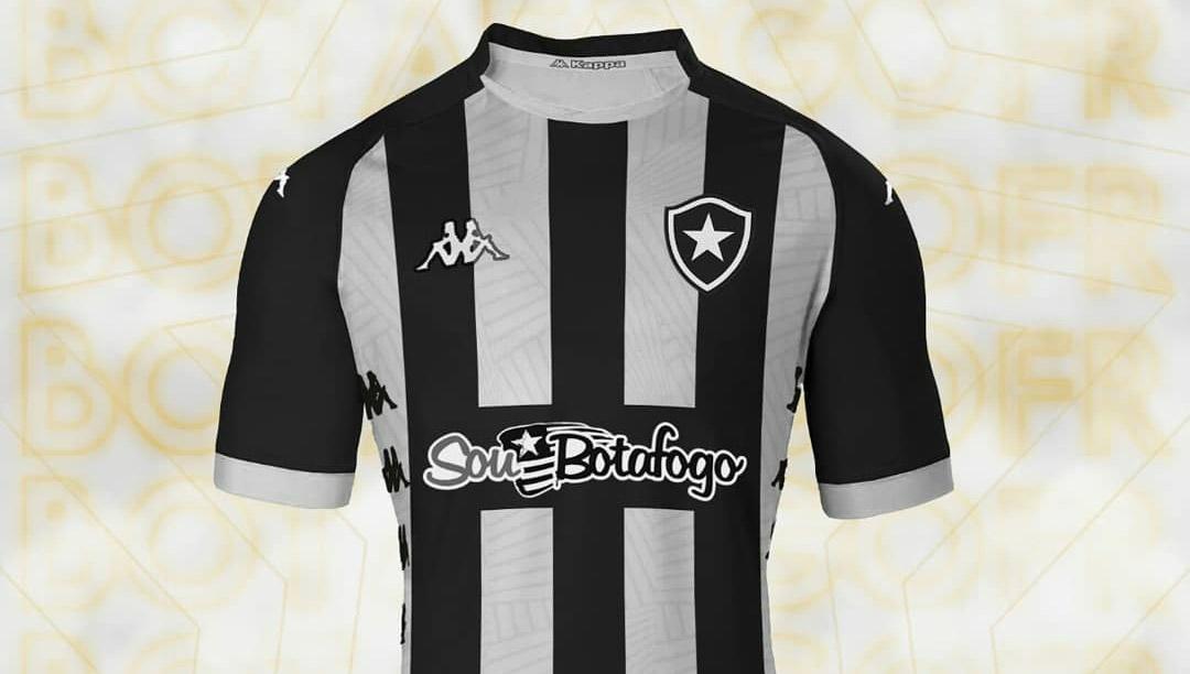 Camisas do Botafogo 2019 Kappa Leitor MDF abre