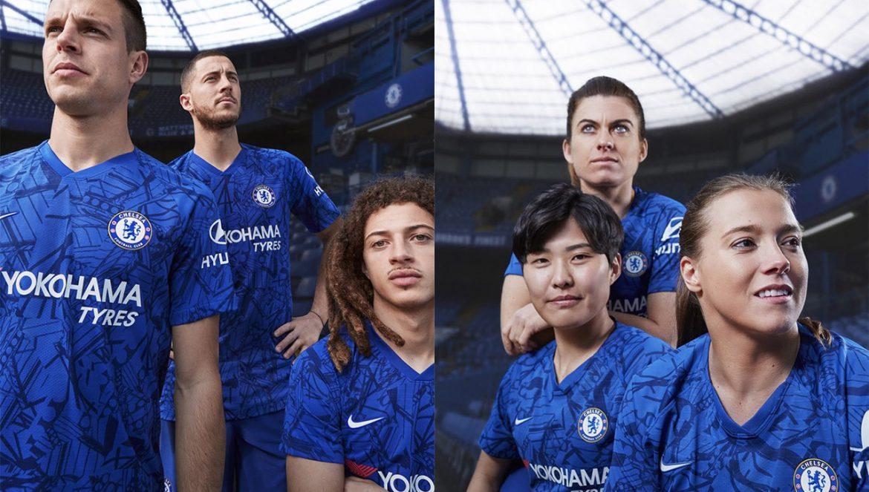 Camisas do Chelsea 2019-2020 Nike abre