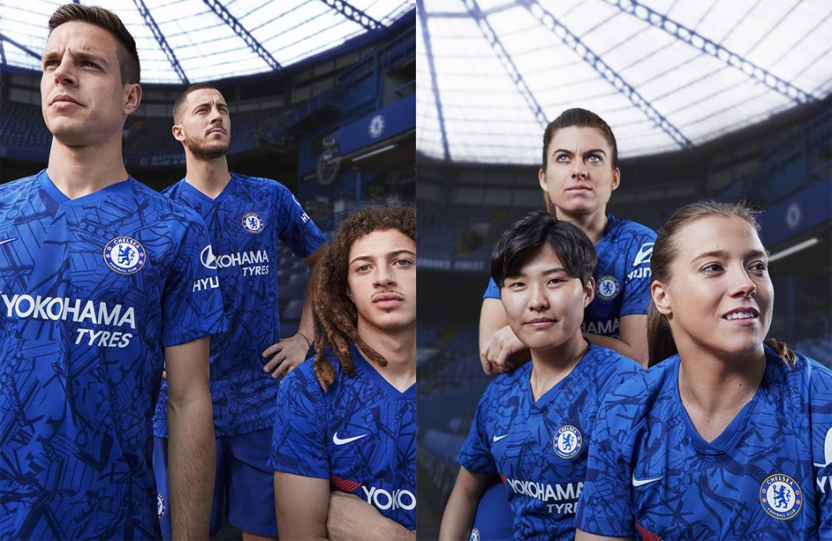 Camisas do Chelsea 2019-2020 Nike abre