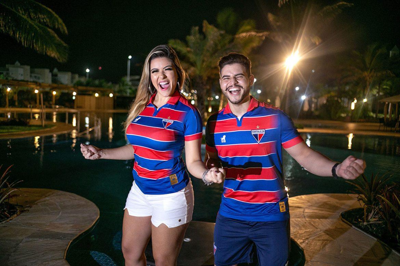 Camisas do Fortaleza 2019-2020 Leão1918