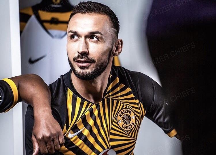 Camisas do Kaizer Chiefs 2019-2020 Nike