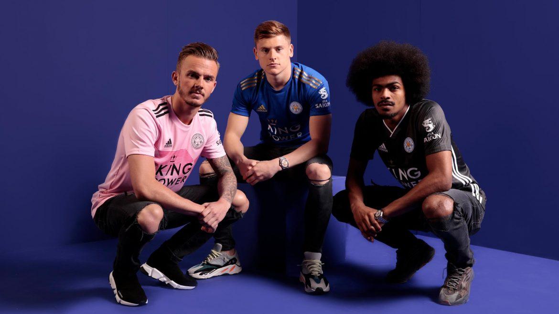 Camisas do Leicester City 2019-2020 Adidas