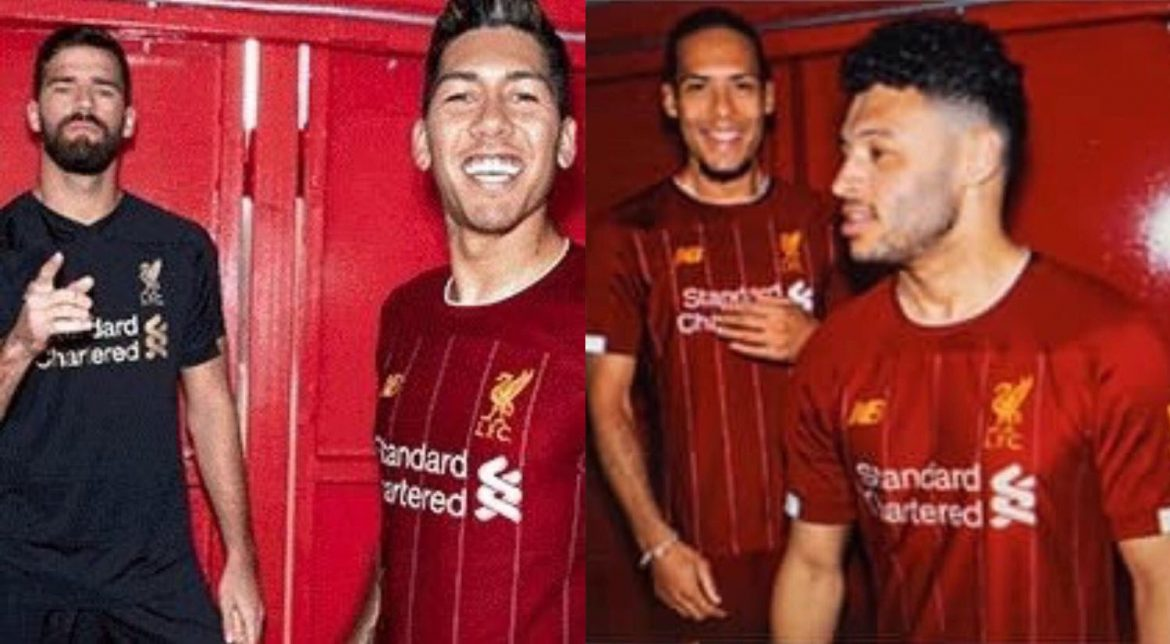 Camisas do Liverpool 2019-2020 New Balance