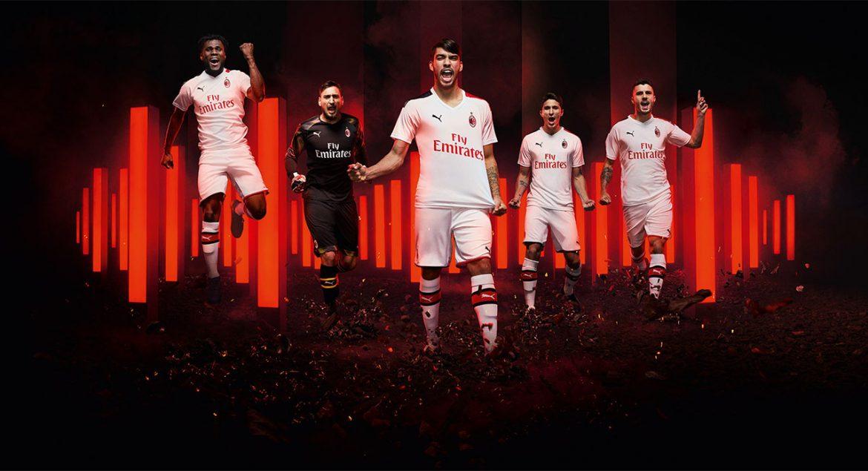 Camisas do Milan 2019-2020 PUMA Reserva abre