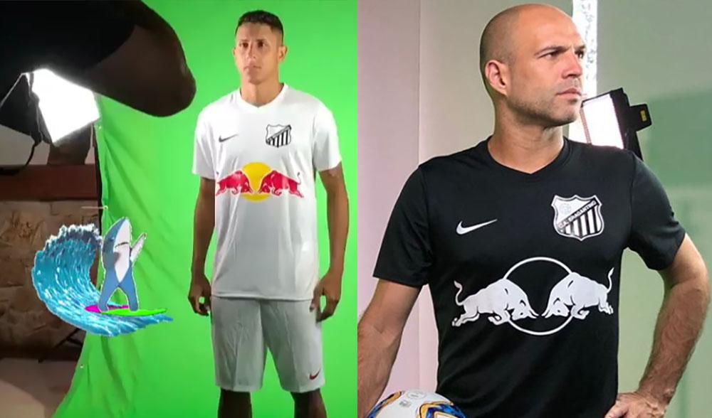 Camisas do Red Bull Bragantino 2019-2020 Nike abre