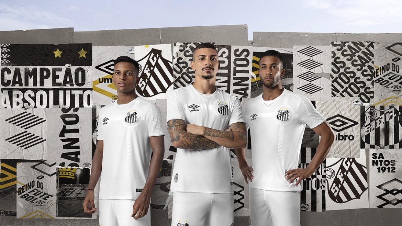 Camisas do Santos 2019-2020 Umbro abre