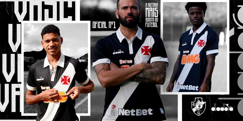 Camisas do Vasco da Gama 2019-2020 Diadora