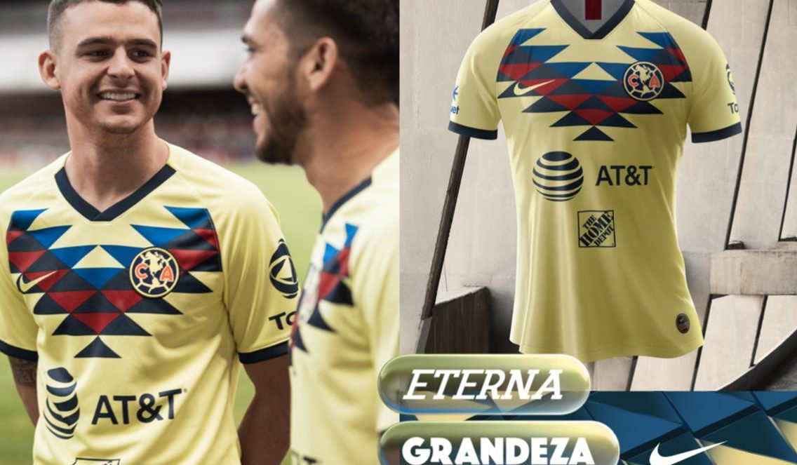 camisas do Club América 2019