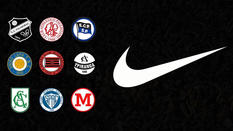 Leitor MDF Camisas Nike das equipes extintas de São Paulo (Rodrigo Seraphim)