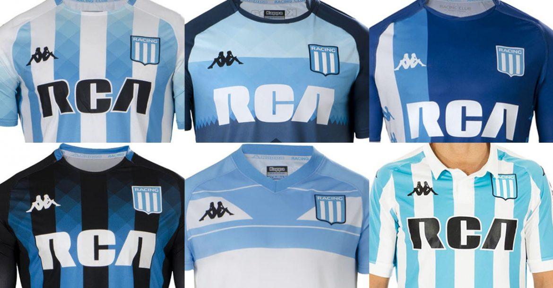 Racing camisas argentino