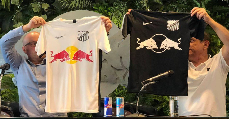 Red Bull Bragantino terá um novo escudo em 2020 mas manterá preto e branco