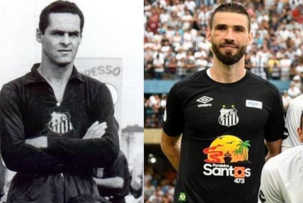 Santos homenageia Gylmar em sua camisa de goleiro 2019