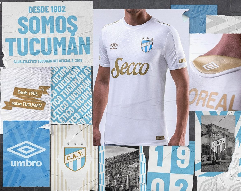Terceira camisa do Atlético Tucumán 2019-2020 Umbro