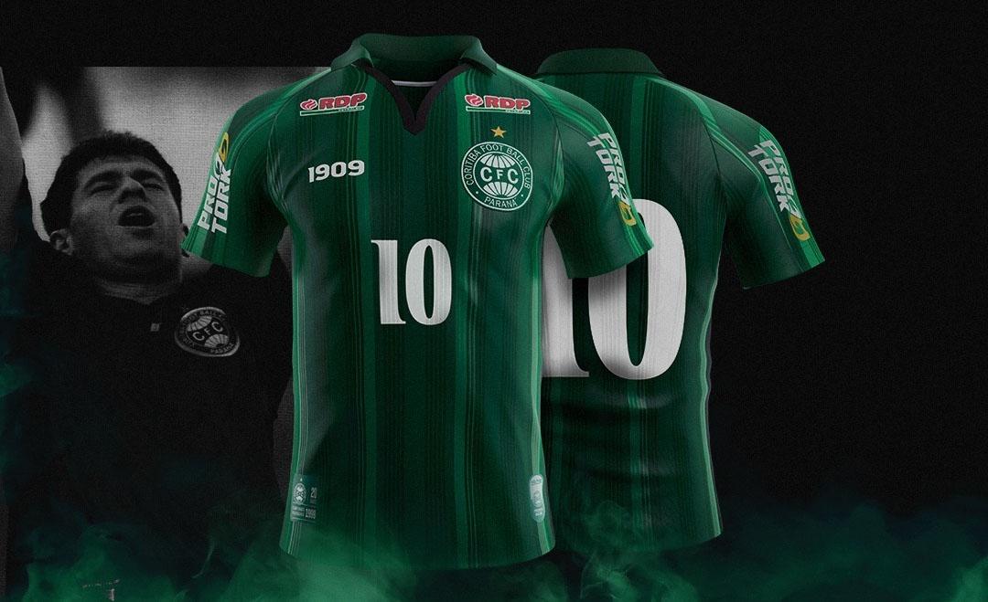 Terceira camisa do Coritiba 2019 1909 Sports abre