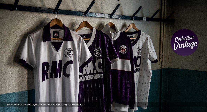 Toulouse FC lança coleção retrô dos anos 80
