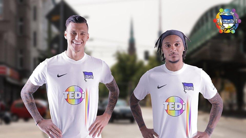 Camisa da diversidade do Hertha Berlin 2019-2020 Nike