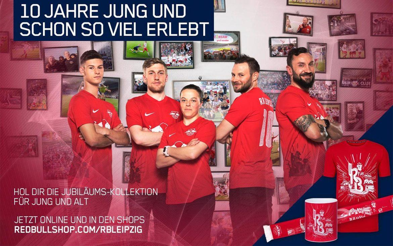 Camisa dos 10 anos do RB Leipzig 2019 Nike