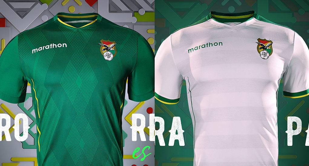 Camisas da Bolívia 2019-2020 Marathon Copa América
