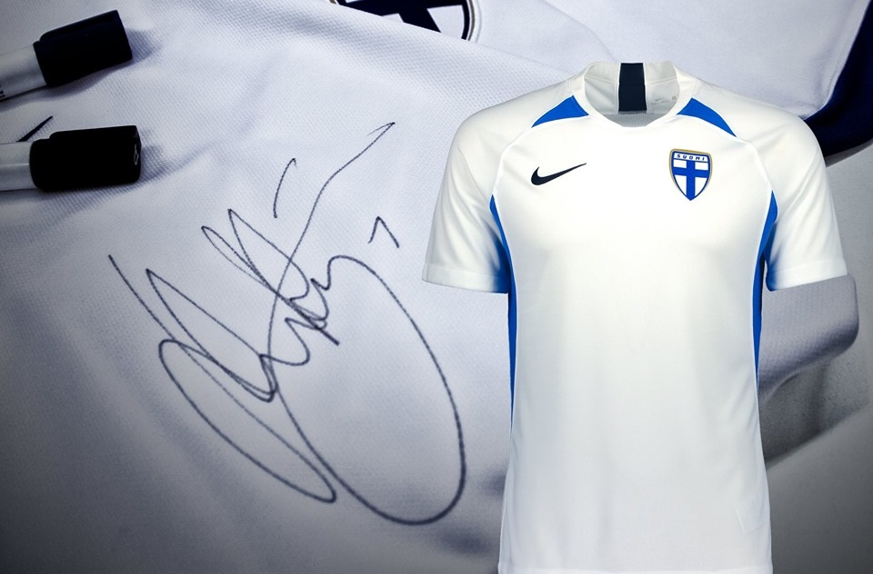 Camisas da Finlândia 2019-2020 Nike