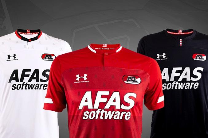 Camisas do AZ Alkmaar 2019-2020 Under Armour