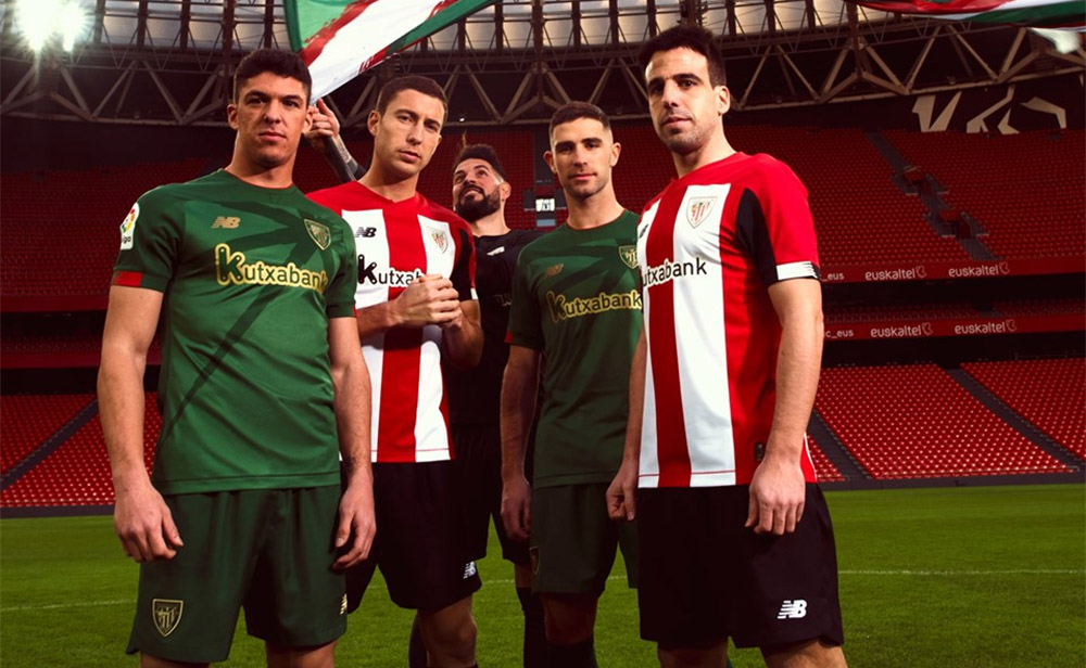 Camisas do Athletic Bilbao 2019-2020 New Balance Titular abre