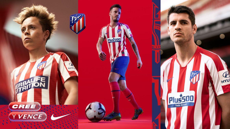 Camisas do Atletico de Madrid 2019-2020 Nike abre