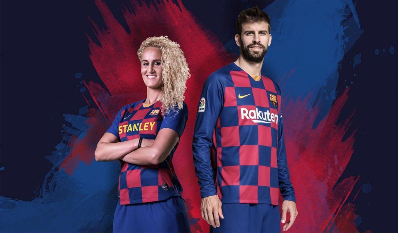 Camisas do Barcelona 2019-2020 Nike abre
