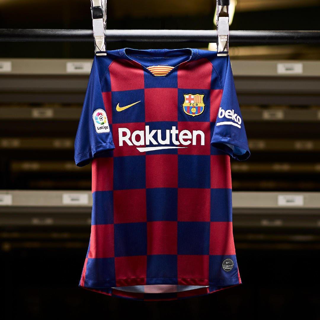 Camisas do Barcelona 2019-2020 Nike kit