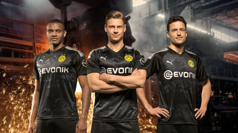 Camisas do Borussia Dortmund 2019-2020 PUMA Reserva