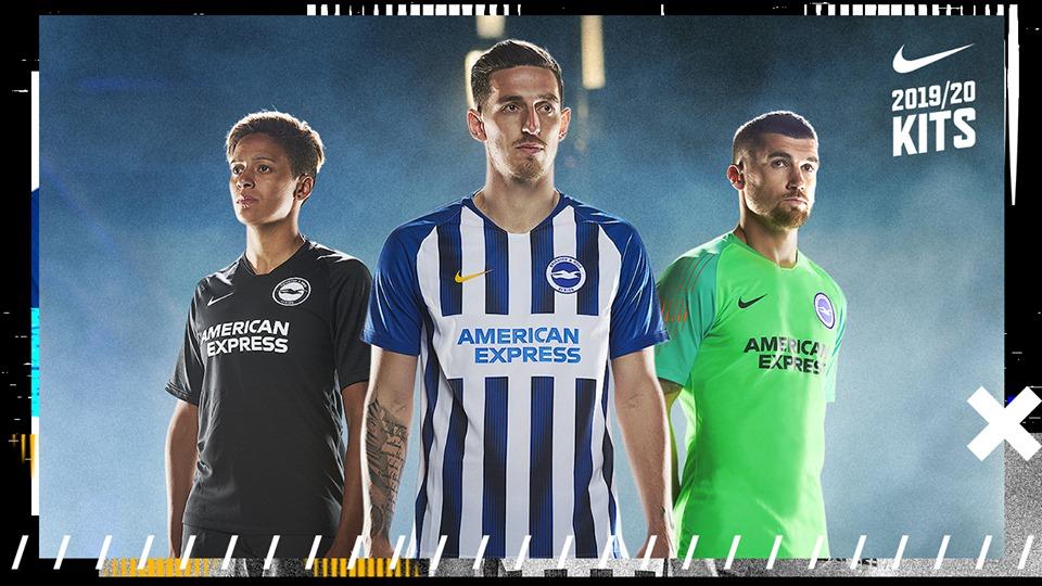Camisas do Brighton & Hove 2019-2020 Nike