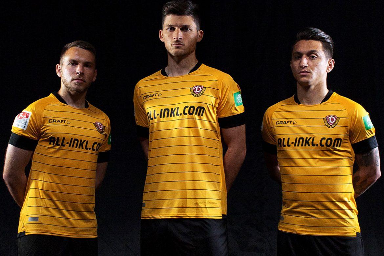 Camisas do Dynamo Dresden 2019-2020 Craft