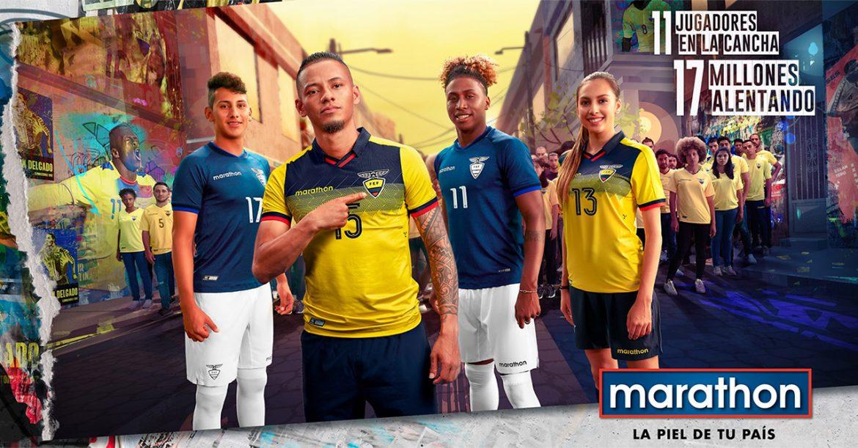 Camisas do Equador 2019-2020 Marathon Sports