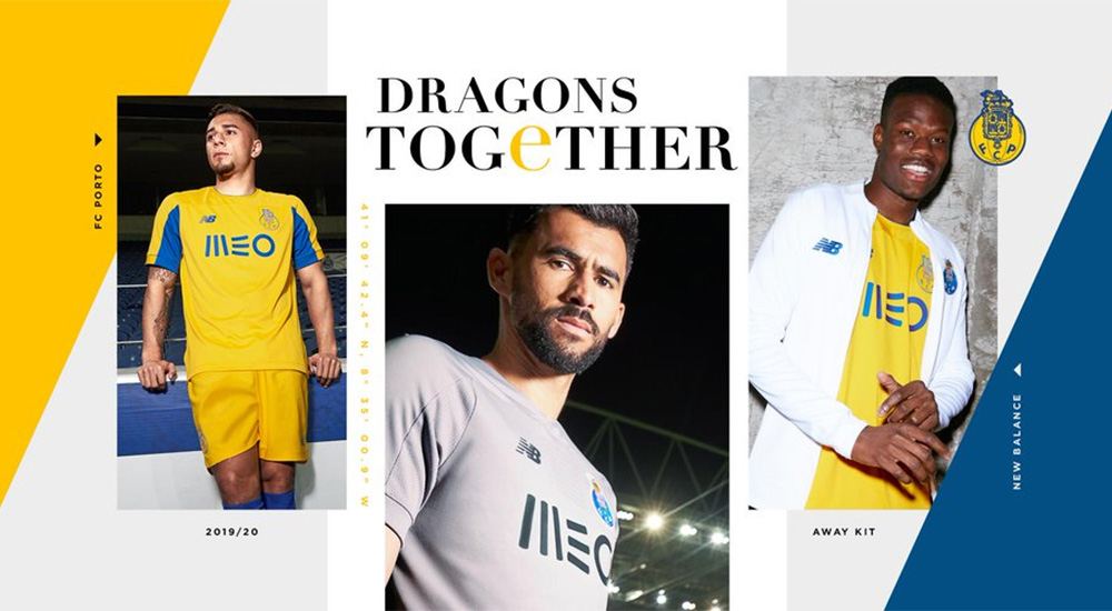Camisas do FC Porto 2019-2020 New Balance