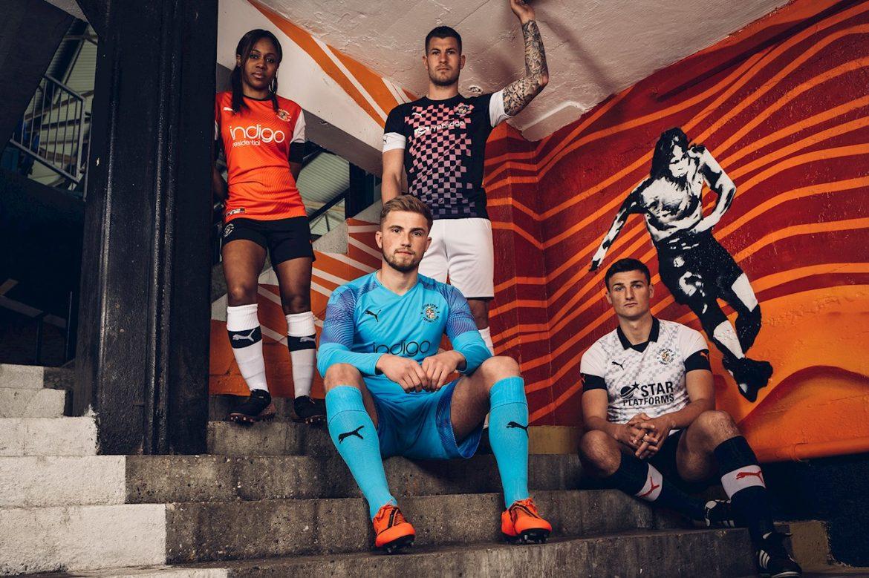 Camisas do Luton Town 2019-2020 PUMA