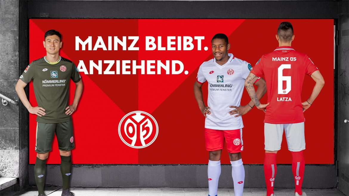 Camisas do Mainz 05 2019-2020 Lotto