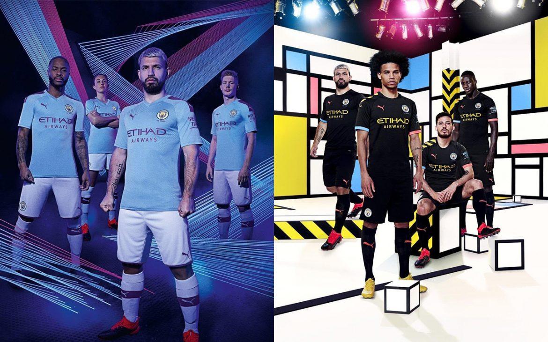 Camisas do Manchester City 2019-2020 PUMA