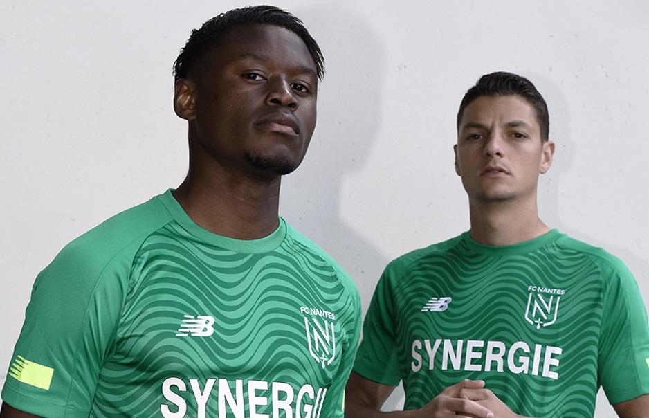 Camisas do Nantes 2019-2020 New Balance + Novo Escudo